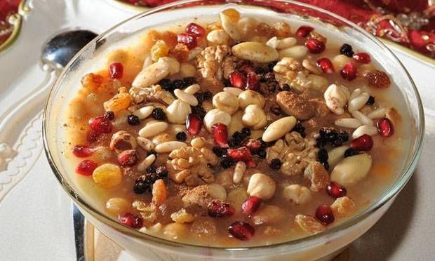 Turkish Cuisine - Aşure - GoStudyinTurkey